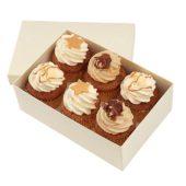 Classic Dessert Cupcakes x 6