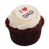 Fathers Day Box of Chocolates Cupcake
