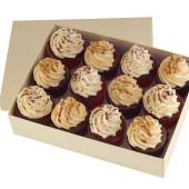 peanut butter red velvet cupcakes x 12