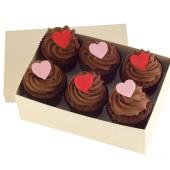 valentines box of chocolates x 6