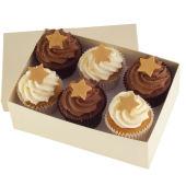 Chocolate Christmas Cupcakes x 6