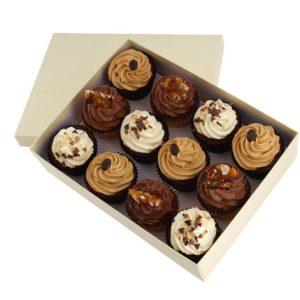 Chocolate Dessert Cupcakes x 12