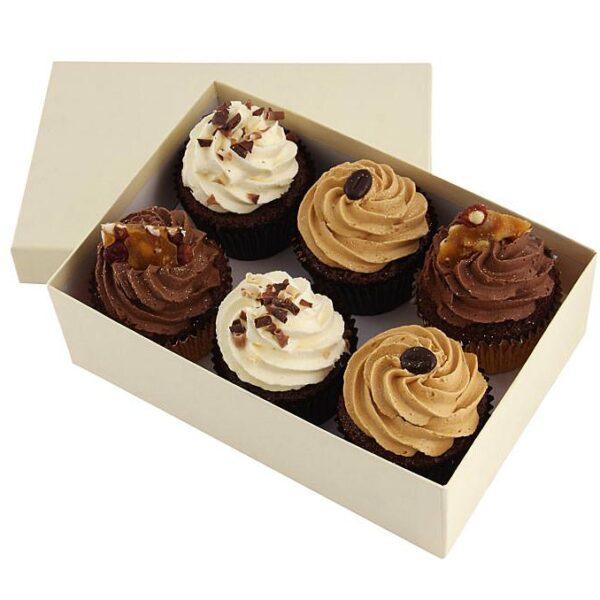 Chocolate Dessert Cupcakes x 6