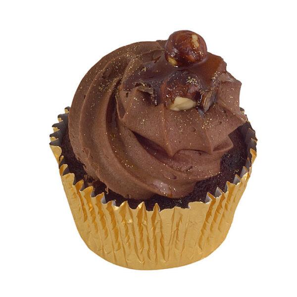 Chocolate Praline Cupcakes