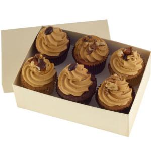 Coffee Addict Cupcakes x 6