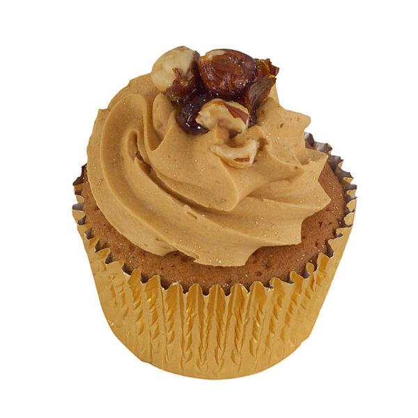 Coffee Praline Cupcakes