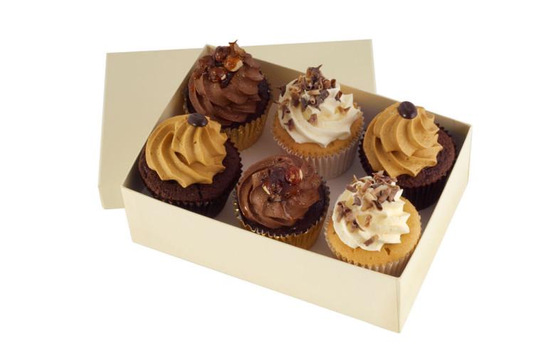 Decadent Dessert Cupcakes x 6