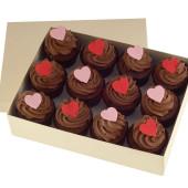 Valentines Box of Chocolates Cupcakes x 12