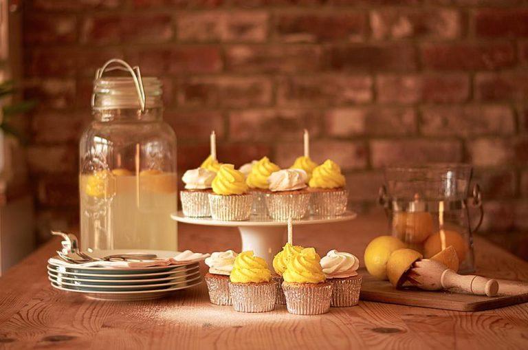 Zesty Cupcakes